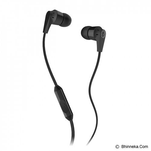 SKULLCANDY Ink'D 2.0 In-Ear w/Mic 1 [S2IKDY-003] - Black - Earphone Ear Bud